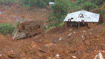 Skutki lawin w Sierra Leone