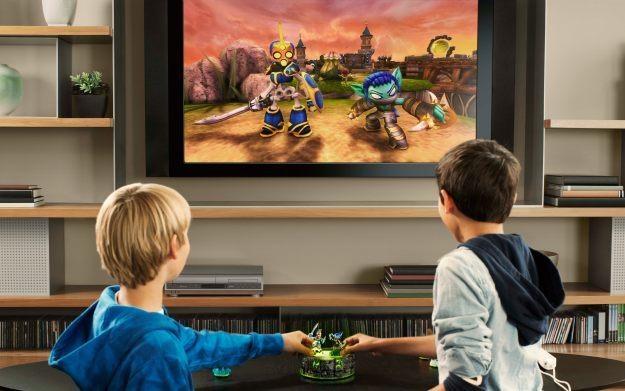 Skylanders: Spyro's Adventure - motyw graficzny /Informacja prasowa