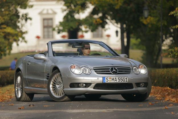 SL: Sensotronic Brake Control stosowano tu aż do 2011 roku. /Motor
