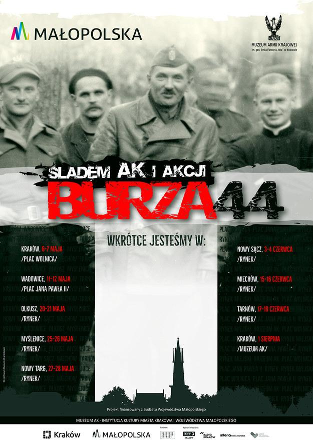 """""""Śladem AK i Akcji 'Burza'"""" startuje  już 6 maja w Krakowie. /materiały prasowe"""