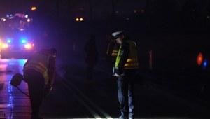 Śląskie: Samochód zderzył się z autokarem. Zginęły dwie osoby