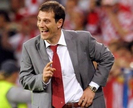 Slaven Bilić uśmiał się czytając angielskie brukowce /AFP
