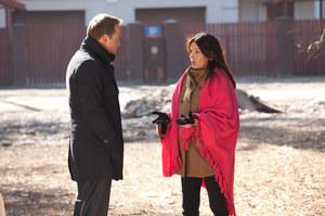 Sławek (Łukasz Nowicki) zapewni Kaśkę (Katarzyna Glinka), że weźmie odpowiedzialność za dziecko. Usłyszy, że... wcale nie zostanie ojcem. /fot  /Agencja W. Impact