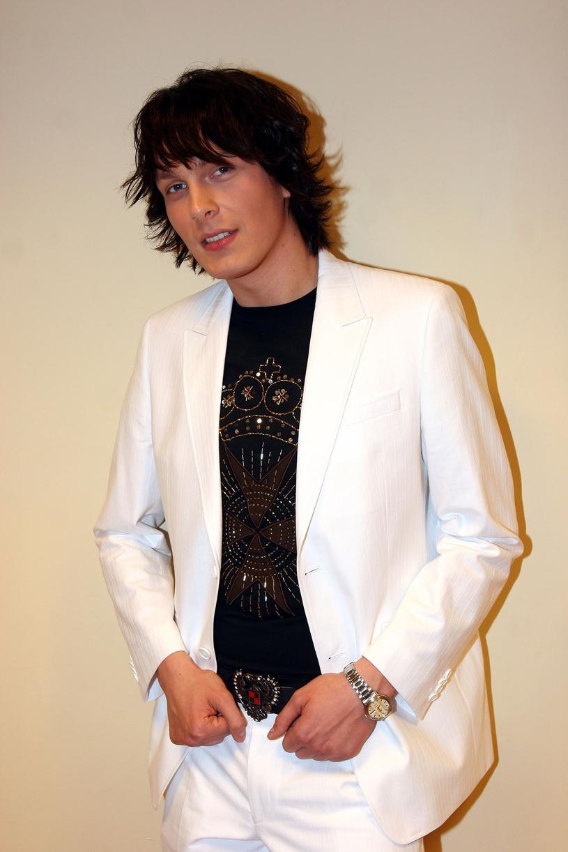 Sławek Uniatowski w 2005 roku /Piotr Fotek /Reporter