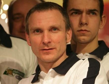 Sławomir Drabik wpisał się na listę strzelców, fot. Łukasz Żyła /Agencja Przegląd Sportowy