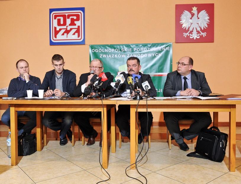 Sławomir Izdebski (2P) ogłosił rozpoczęcie akcji protestacyjnej w całej Polsce /Marcin Obara /PAP