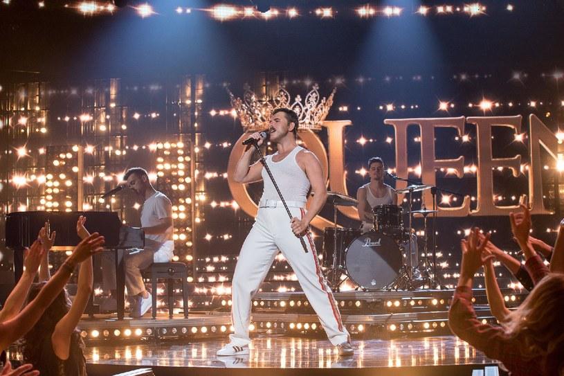 Sławomir jako legendarny Freddie Mercury /M.Zawada