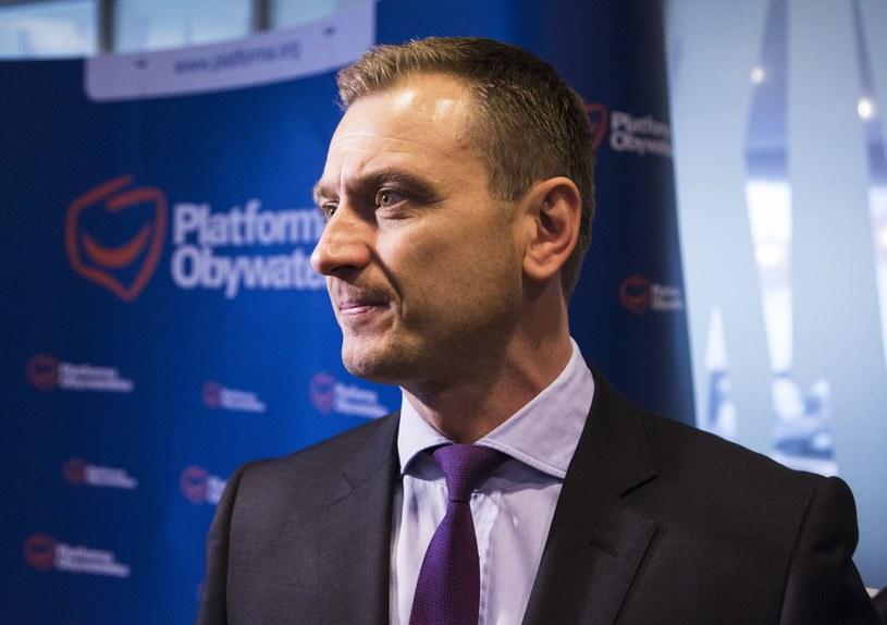 Sławomir Nitras: To była taka inicjatywa indywidualna Jarosława Gowina /Andrzej Hulimka  /East News