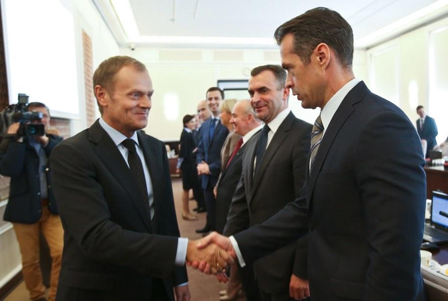 Sławomir Nowak był w rządzie Donalda Tuska ministrem transportu /Rafał Guz /PAP