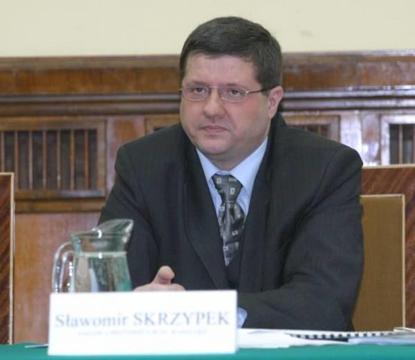 Sławomir Skrzypek został wiceprezesem PKO BP; fot. Tomek Zieliński /Agencja SE/East News