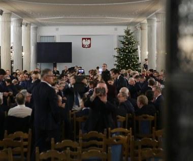 Śledztwo ws. obrad Sejmu w Sali Kolumnowej: Jest zawiadomienie dot. podejrzenia przestępstwa