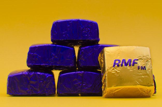 Słodki prezent od RMF FM na 25. urodziny radia /Paweł Baranowski  /Archiwum RMF FM