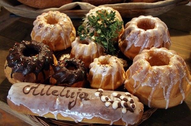 Słodycze są ważnym elementem wielkanocnego śniadania /Mirosław Trembecki  /PAP