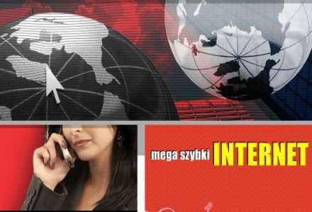 Slogan ze strony interentowej firmy - czy mega szybki internet będzie prawdą? /Internet