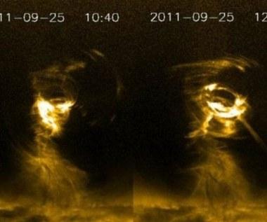 Słoneczne tornado 5 razy większe niż Ziemia