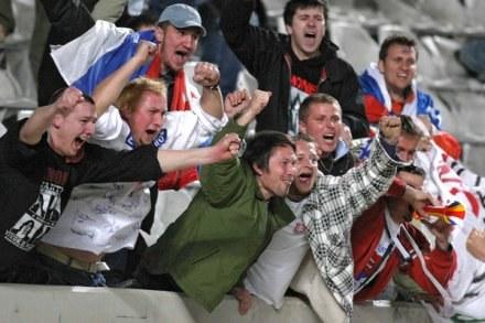 Słowaccy kibice nie stawią się w komplecie na Śląskim /AFP