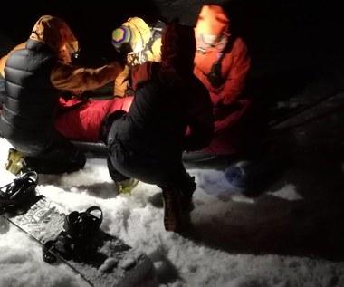 Słowaccy ratownicy odnaleźli polskiego snowboardzistę, który zagubił się w Tatrach