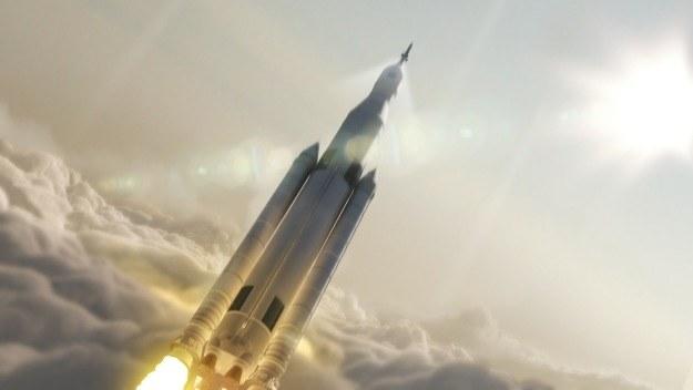 SLS - wizualizacja /NASA