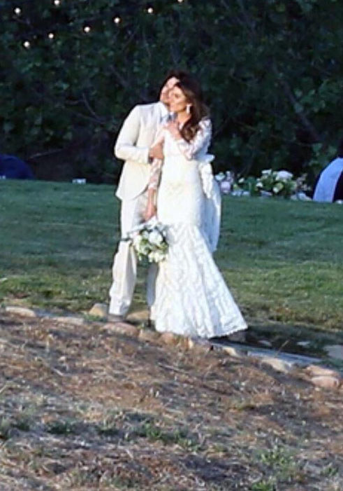 Ślub Iana Somerhaldera i Nikki Reed /Twitter /internet