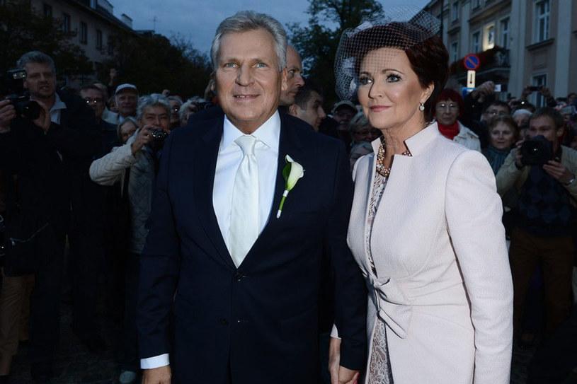 Ślub to wstęp do ciężkiej pracy - uważa Jolanta Kwaśniewska /East News