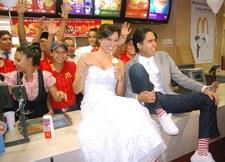 Ślub w restauracji fast food tylko w Las Vegas
