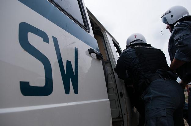 Służba Więzienna jest umundurowaną i uzbrojoną formację apolityczną. Fot. Łukasz Szeląg /Reporter