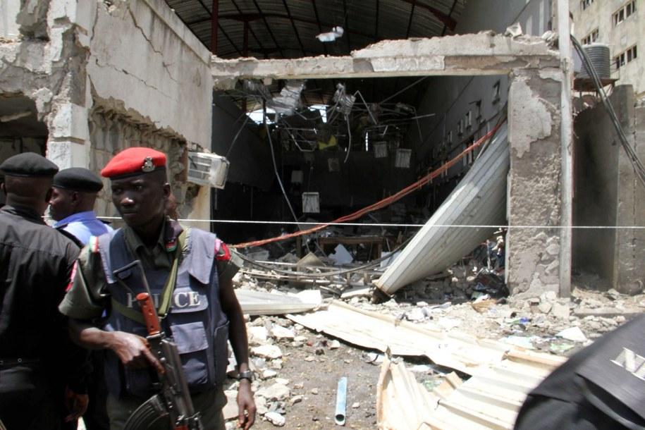 Służby na miejscu wybuchu (zdj. ilustracyjne) /GEORGE ESIRI /PAP/EPA