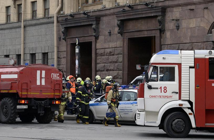 Służby po ataku /AFP