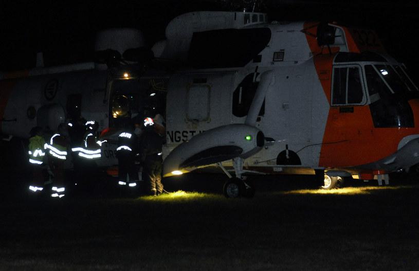 Służby ratunkowe na miejscu tragedii /NTB scanpix / Mads Heggo /AFP