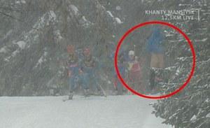 Słynny biathlonista... syberyjskim striptizerem