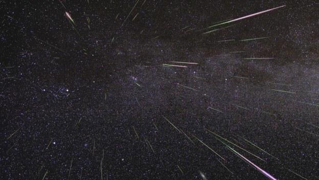 Słynny deszcz meteorów LHB miał miejsce 4 mld lat temu /NASA