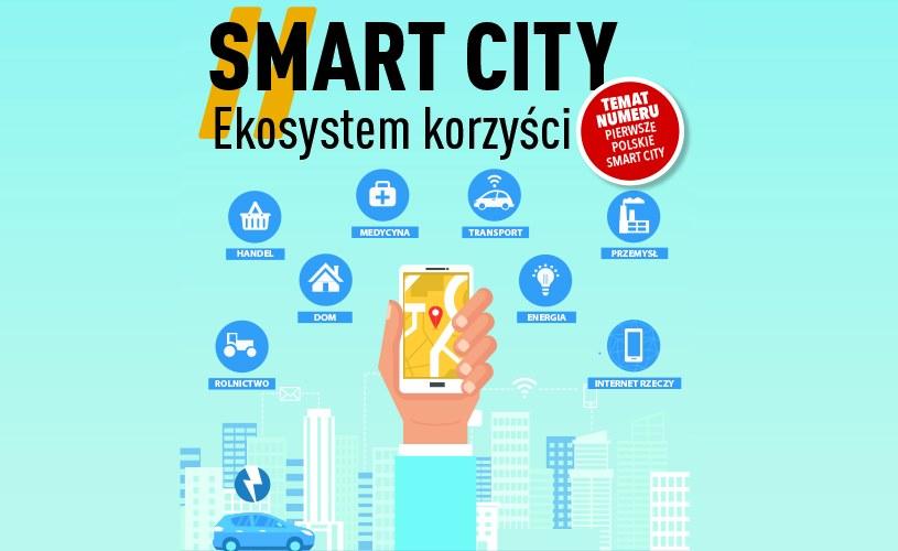 Smart city /Warsaw Press /materiały prasowe