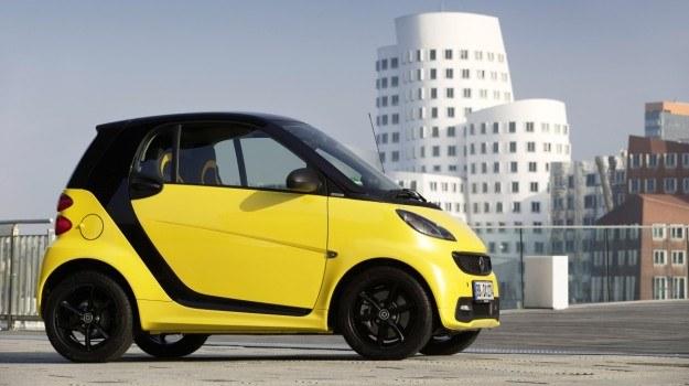 Smart fortwo cityflame powstanie w limitowanej serii 2400 egzemplarzy. /smart