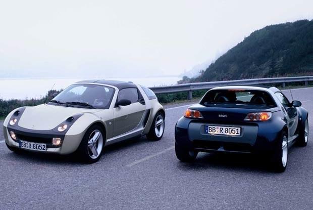 Smart roadster i smart roadster-coupe (kliknij) /INTERIA.PL