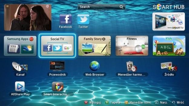 Smart TV Samsunga staje się coraz popularniejsze /materiały prasowe