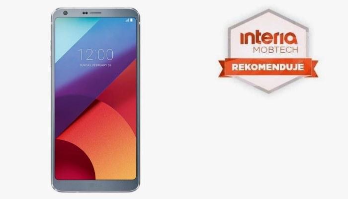Smartfon LG G6 otrzymuje rekomendację serwisu Interia Mobtech /INTERIA.PL