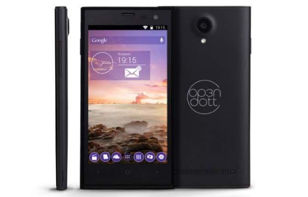 Smartfon Op3n Dott - prezentuje się naprawdę poprawnie /materiały prasowe
