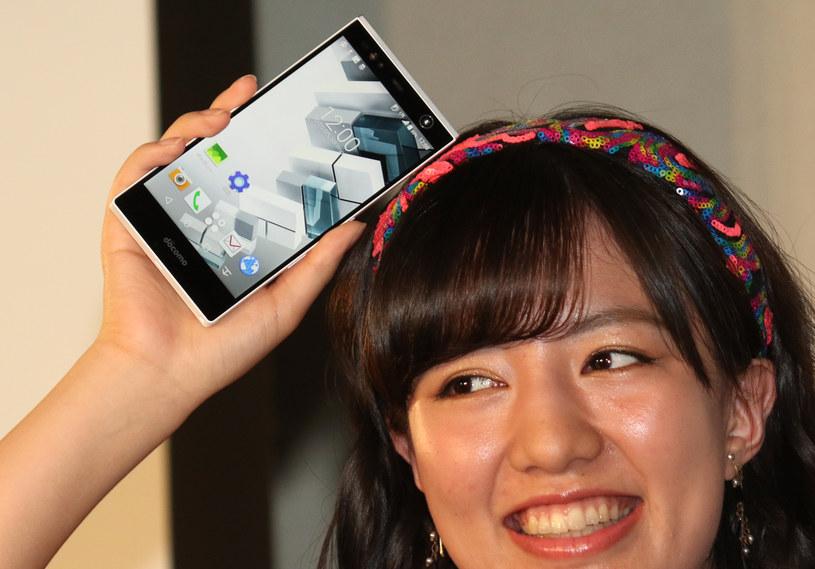 Smartfony Fujitsu nie są sprzedawane w Europie /AFP