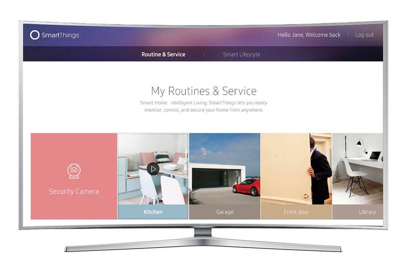 SmartThings - Samsung stawia na Internet Rzeczy, także w telewizorach /materiały prasowe