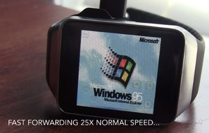 Smartwach Samsung Gear Live z Windowsem 95