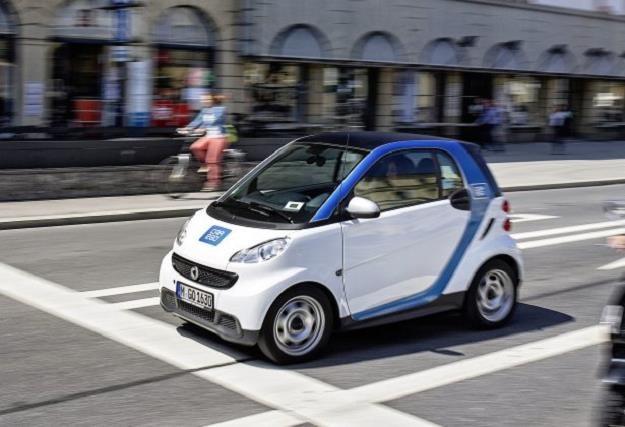 Smarty Car2Go można spotkać na ulicach wielu europejskich miast /