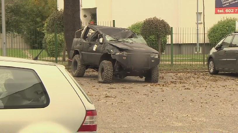 Śmierć 13-latki. Są zarzuty dla pijanego kierowcy /TVN24/x-news