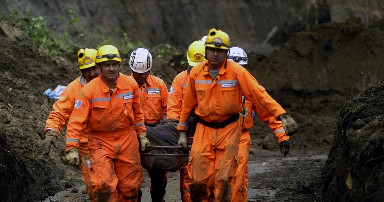 Śmiertelne żniwo błotnych lawin w Gwatemali
