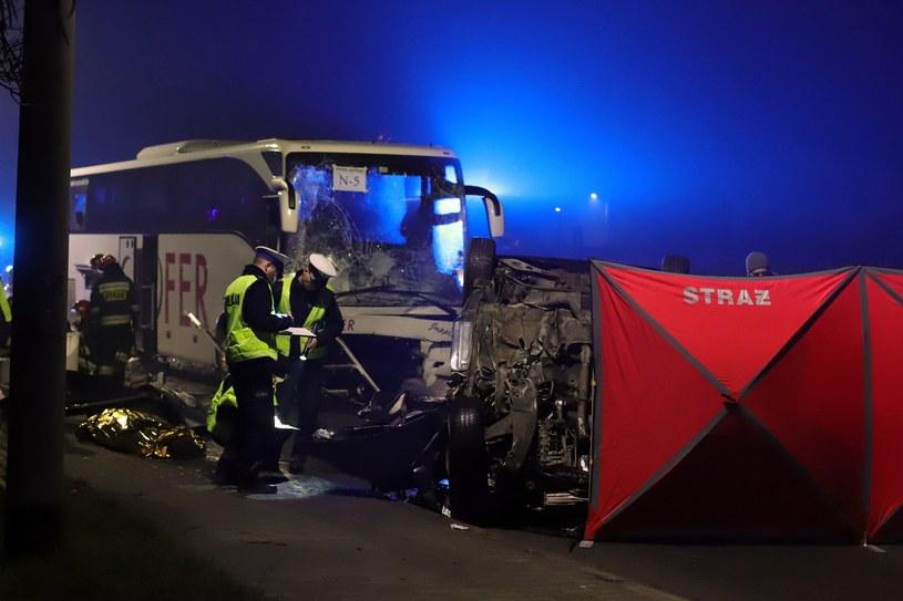 Śmiertelny wypadek na DK 46 /Reporter