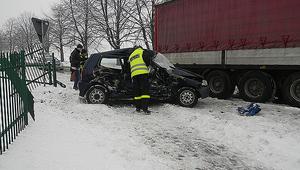 Śmiertelny wypadek na drodze 875 w Kolbuszowej