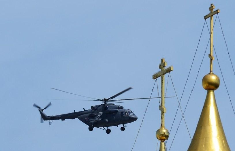 Śmigłowiec MI-8 podczas pokazu w Moskwie /RIA Novosti /East News