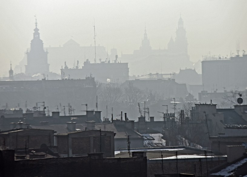 Smog nad Krakowem /Marek Lasyk  /Reporter