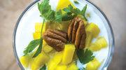 Smoothie z mango i miętą