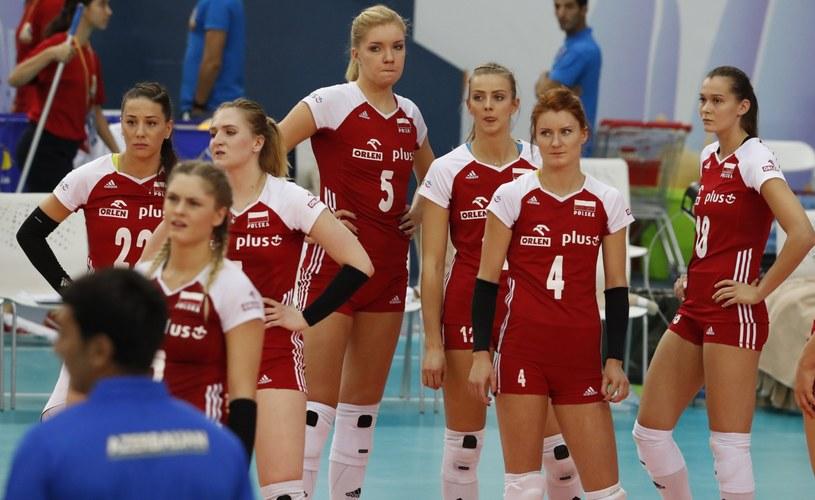 Smutne Polki po porażce z Azerbejdżanem /PAP/EPA