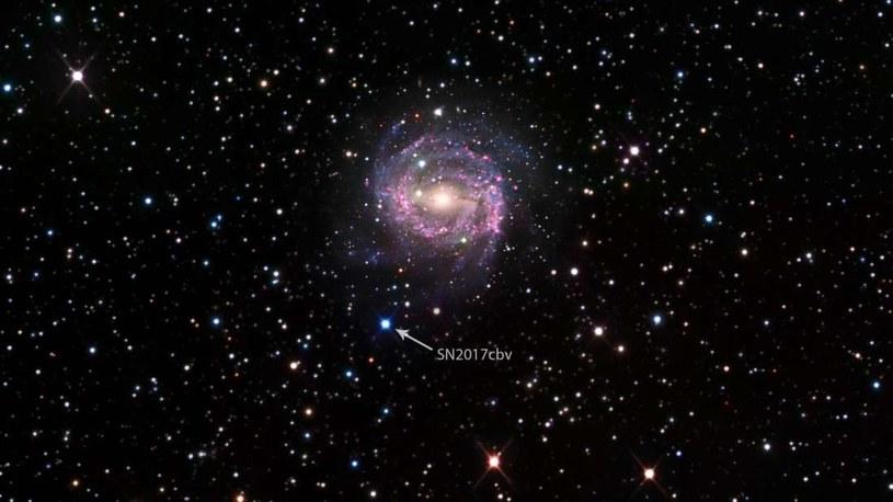 SN 2017cbv /NASA